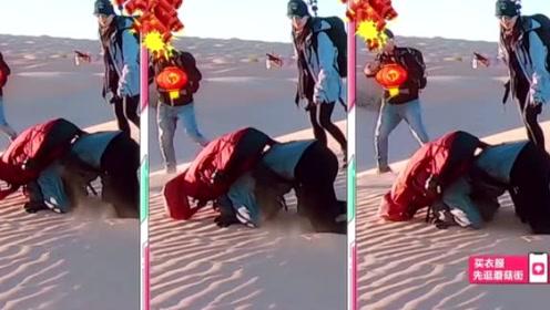 火箭少女勇闯撒哈拉沙漠  杨超越犹如行走的音响  队友状况百出