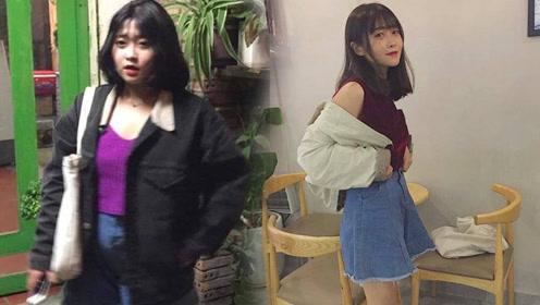 越南女孩4个月减掉40斤 对比照变化太大让人惊讶