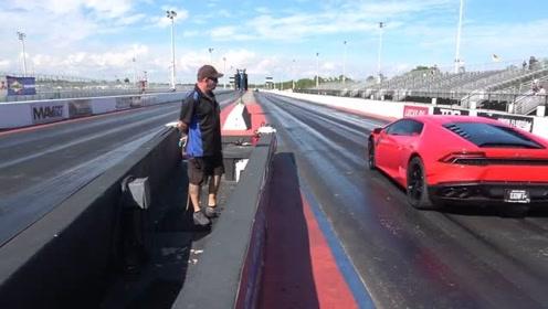 马快还是牛狂?兰博基尼Huracan vs 法拉利488 GTB直线对飙