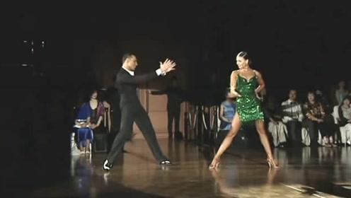 大师级选手,动感的拉丁舞,真是精彩!
