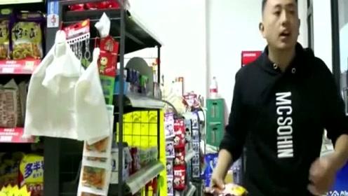 超市买火鸡面,非问老板娘要火鸡,没想老板娘这样应付的呢?