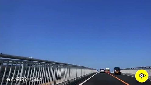 日本这座桥比滑梯还陡峭,新手司机被吓傻不敢上!