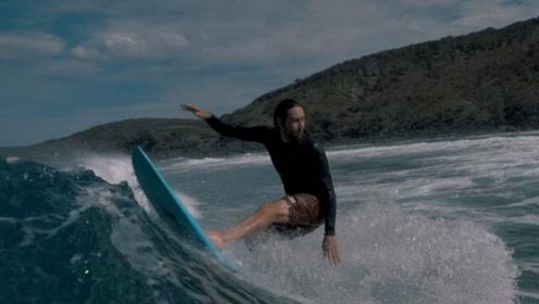 冲浪也可以这么酷!用身体去感受每一刻