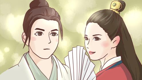 双手绘:张无忌与赵敏初遇,看四版女神的回眸
