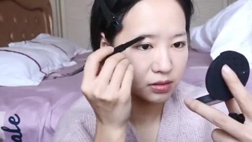 方言版美妆教程,你们能听懂吗?妆后的小姐姐美美哒!