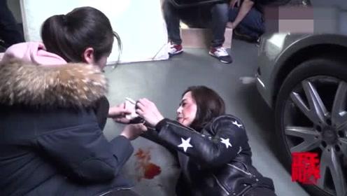 姚晨在车库被郭京飞暴打一顿,郭京飞:该化妆了不打你了