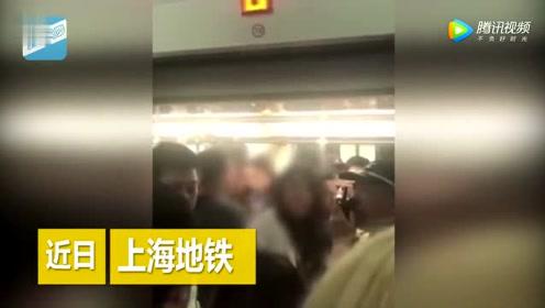 女子因手机被偷站车门口阻碍地铁前行
