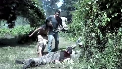 惊险激战,特种兵在丛林和歹徒玩起了捉迷藏游戏