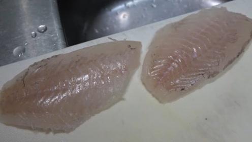 跟着大厨来处理大鱼,最大程度的不浪费材料,一起来看吧