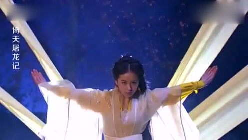 刘诗诗版的黄衫女子绝了,一出场气势压住全场,周芷若弱爆了