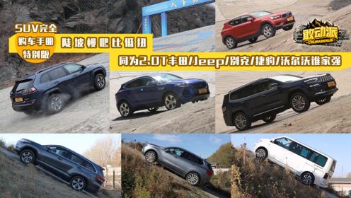 陡坡慢爬比低扭,同为2.0T丰田、Jeep、别克、捷豹、沃尔沃谁家强?