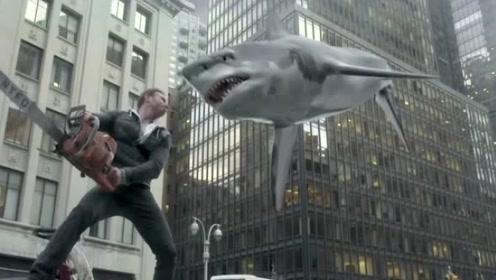 纽约惊现高强度台风,海水被卷起,天上掉鲨鱼