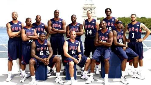 太简单!梦八队征战奥运会不需要什么战术,仅仅靠天赋就吊打别国