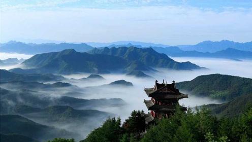 中国最淘气的山!日本人来观光就躲进迷雾,美丽风景就是不给看!