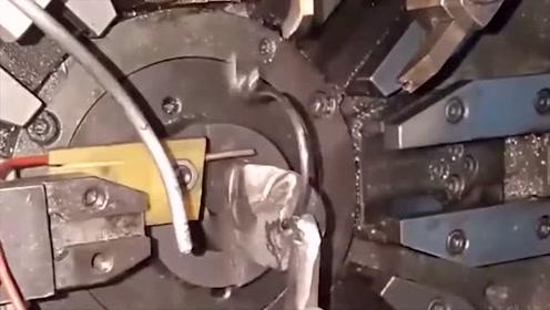 科技探秘:价值百万的弹簧机械加工过程!看完治好了我的强迫症