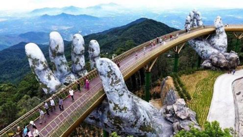"""""""两只手""""托起的金桥,耗资130亿,竟可以和天空之桥相媲美?"""