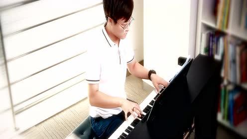 《我在那一角落患过伤风》文武贝钢琴即兴演奏