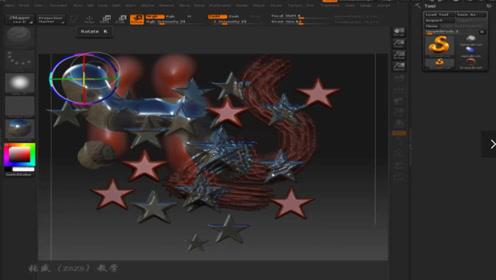 zbrush教程:入门基础操作精通到轻松学模型输入和视图操作
