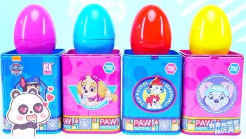 《奇奇和悦悦的玩具》汪汪队糖果盒子奇趣蛋