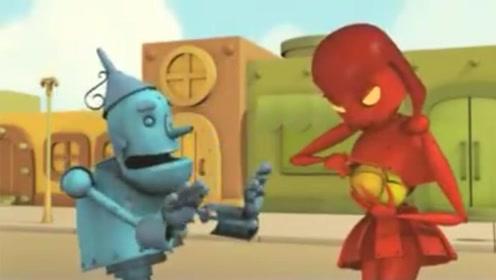 机器人把心送给心动女孩,却被女孩随意践踏,最终找到真爱!