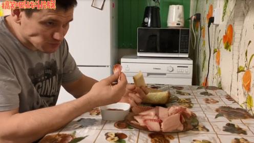 """零下50度!""""冰冻之国""""雅库特的俄罗斯人吃鱼的方式够硬核"""
