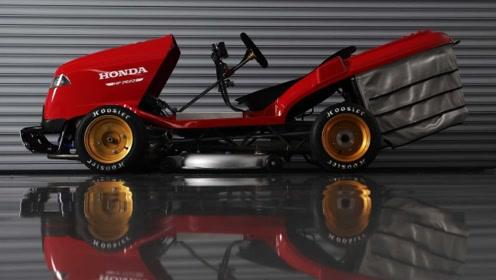 本田黑科技!3秒破百 190匹马力的割草机你见过吗?