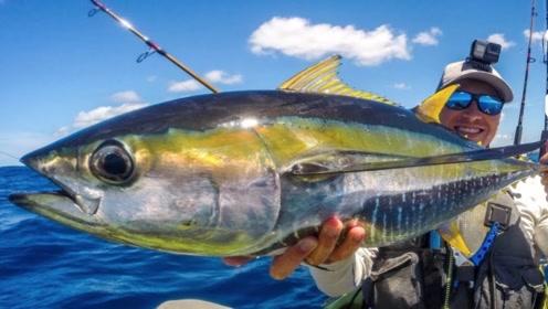 皮划艇钓鱼,目标夏威夷飞鱼,让我们海上见