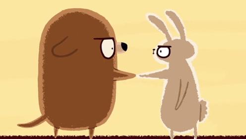 神反转动画,兔妈妈为救孩子不惜与狗决一死战,最后却和狗好上了