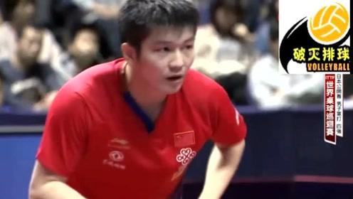 台湾解说版!日本公开赛男单半决赛,许昕4:3樊振东,七局大战