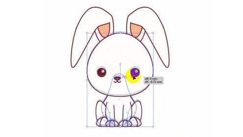 超简单的ai教程-卡通动物绘制技巧