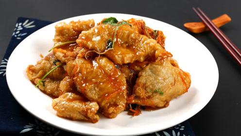 家常菜拒绝不了的诱惑 锅包肉壳酥肉嫩就得这样做