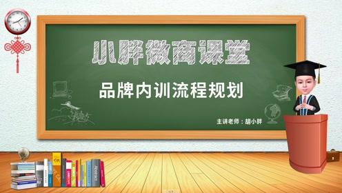 NO.57 胡小胖:微商品牌内训流程规划 - 小胖微商课堂