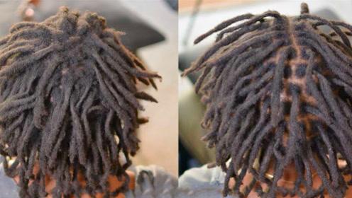 """非洲黑人的""""脏辫""""有多脏?头发放进水里那一刻,网友:辣眼睛!"""