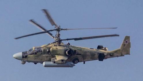 双桨叶设计的卡52直升机,果真还是大有不同