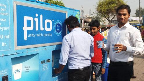 """印度小伙发明净水""""神器"""",获几千万奖金,网友:不太实用"""