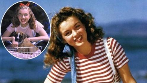 玛丽莲梦露19岁照片卖55万,整容收据被竞拍,看照片才明白
