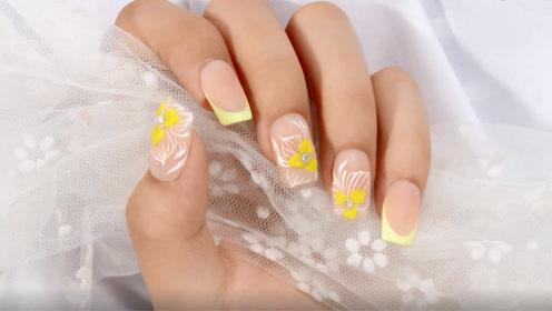 糖衣黄色小雕花