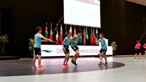 跳绳世界杯,济南18名同学共获得86枚奖牌
