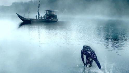 湖里出现怪物,速度超快还能说人话,一出水就施展了轻功水上漂!