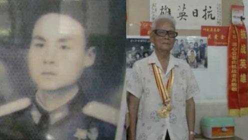 9旬抗战老兵三次从戎,曾两次参加国庆阅兵:军靴还在