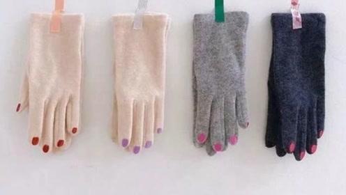 """日本流行的""""指甲油手套"""",简直颠覆美甲的认知"""