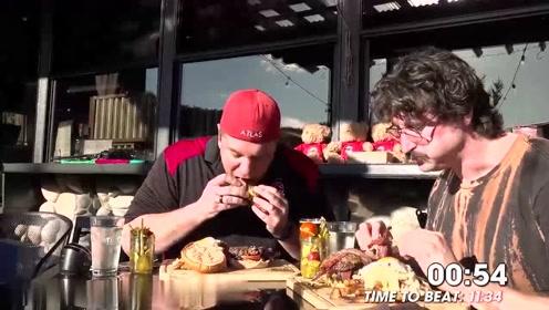 帽子一转老板破产,兰迪出手一个顶俩:兰迪的超大汉堡的速食挑战