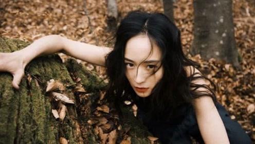 张钧甯最新封面大片给人意想不到的惊喜,置身枯林之中彰显野性美