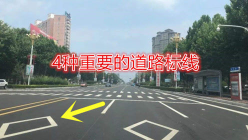 老司机提醒:这4条道路标线很重要,不清楚的话容易犯错!