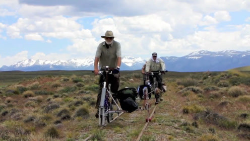 在废弃的铁路上骑行是什么感觉?国外大叔亲自体验,一起去看看!