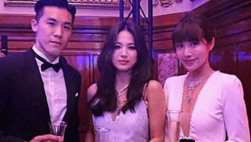 宋慧乔正式离婚后首亮相,与友人同框面无表情一脸忧郁