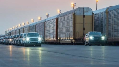 All-Electric F-150 Tows 1M