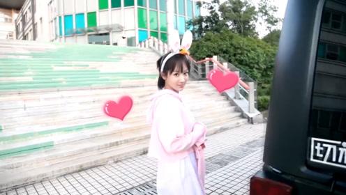 """【独家花絮】杨紫片场变""""小兔紫"""",这个回眸太可爱了"""
