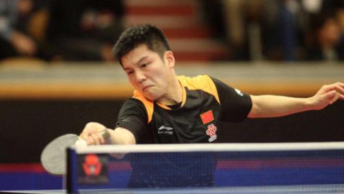 德国选手淘汰樊振东后开心到语无伦次:没想到竟然赢了他最强反手
