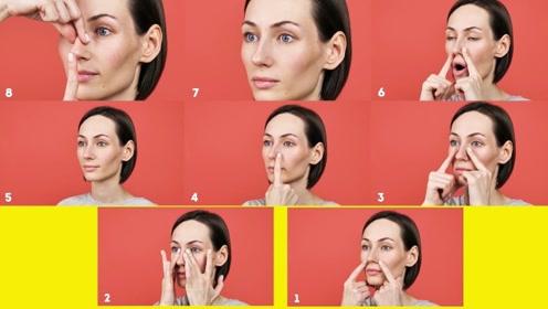 8个塑造鼻型的小运动:每天坚持锻炼,让你拥有梦寐以求的高鼻梁